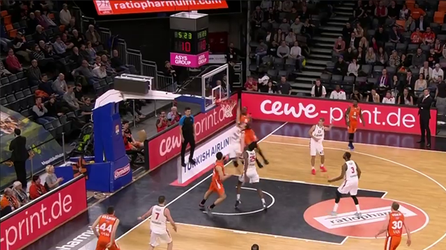 EuroCup Dunk of the night: Javonte Green, Ratiopharm ULM