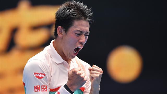 Nishikori survives epic five-set battle with Karlovic to reach third round