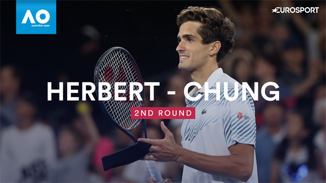 Herbert knocks out last year's semi-finalist Chung Hyeon