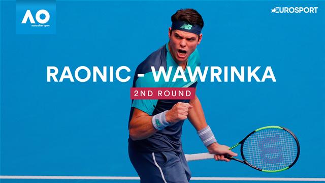 4 heures, 4 sets, 4 tie-breaks : comment Raonic a remporté son bras de fer avec Wawrinka