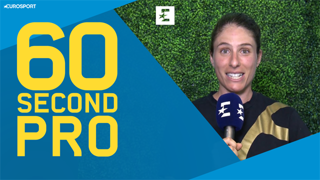 60 Second Pro: Johanna Konta's top tips on dealing with extreme heat