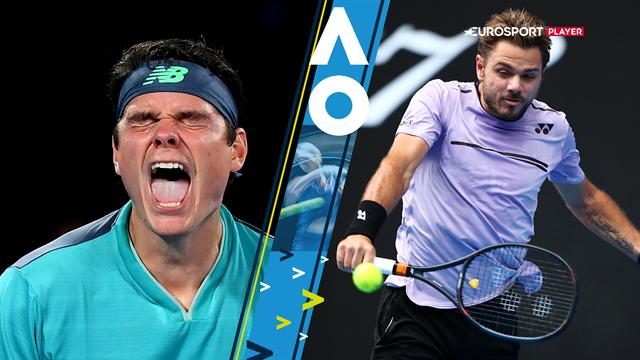 Raonic óriási meccsen búcsúztatta Wawrinkát, Serena és Djokovic simán továbbjutott