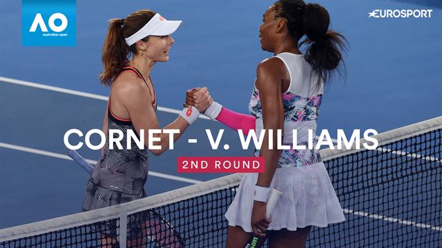 Open Australia 2019, Cornet-V. Williams: Vídeo resumen del partido
