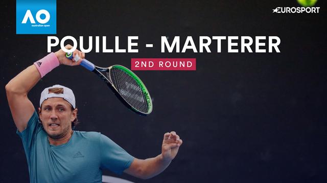 Open Australia 2019: Pouille-Marterer, vídeo resumen del partido