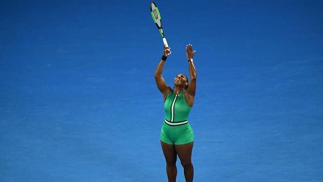 Con Serena non c'è storia: Bouchard cancellata dalla Williams; altro brivido per la Halep