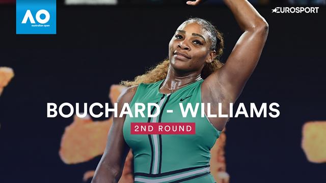 Open Australia 2019, Bouchard-S. Williams: Rápido y sin contemplaciones (2-6 y 2-6)