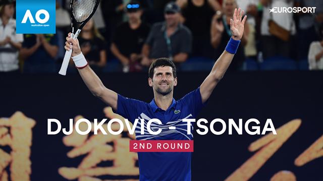 Open Australia 2019, Djokovic vs Tsonga: Vídeo resumen del partido