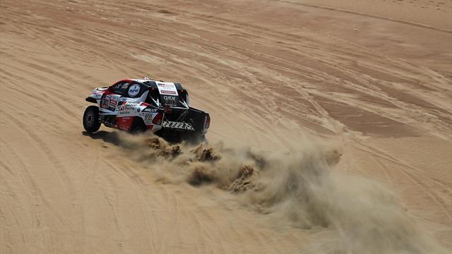 Al-Attiyah un peu plus dans l'histoire, Loeb encore sur le podium