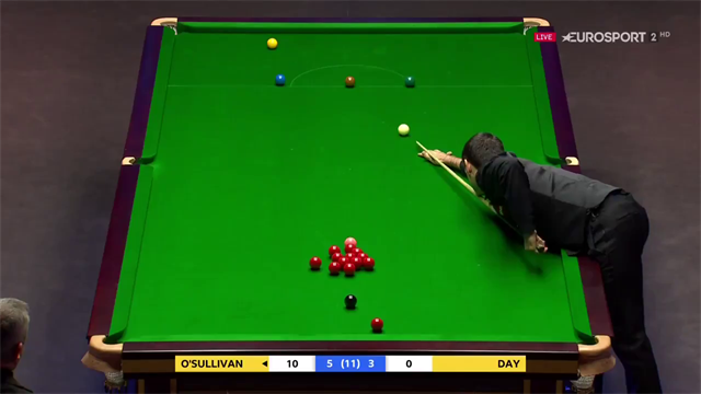 'Unbelievable' left-handed shot from O'Sullivan on the brown