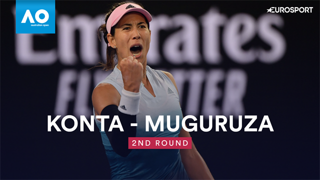 Muguruza prevails over Konta in marathon match