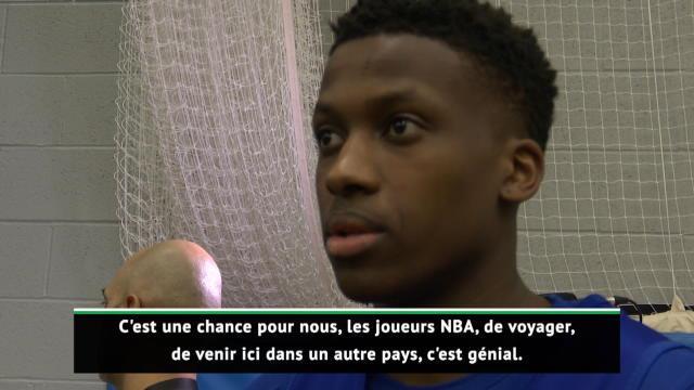 NBA - Ntilikina de retour en Europe
