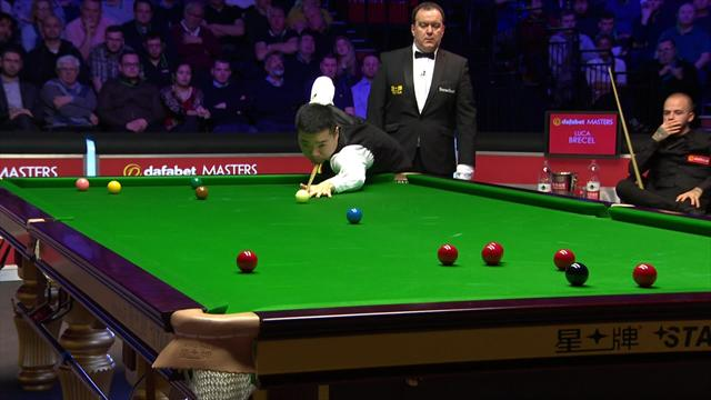 Great sportsmanship as Ding owns up to accidental foul