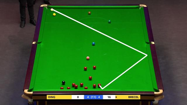 'That is the most majestic safety shot you will ever see in your life' - Incredible from Brecel