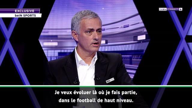 """Mourinho - """"Bien trop jeune pour quitter le football de haut niveau"""""""
