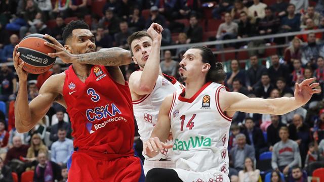 Il Fenerbahce si impone a Gran Canaria, CSKA a faticasul Bayern. In scioltezza Maccabi e Olympiacos