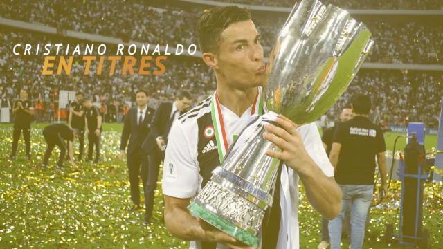 Ronaldo, des titres comme s'il en pleuvait