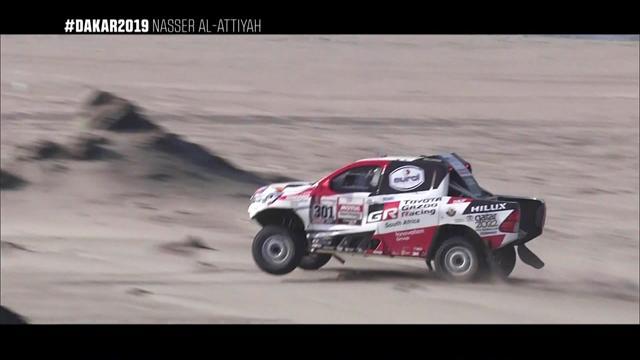 Las mejores imágenes de Nasser Al-Attiyah, campeón del Dakar en coches