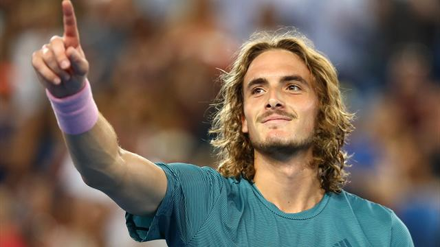 Tsitsipas underlines his promise with four-set win over Basilashvili to reach fourth round