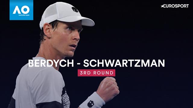 Schwartzman a pu le contaster : Berdych est bien de retour !