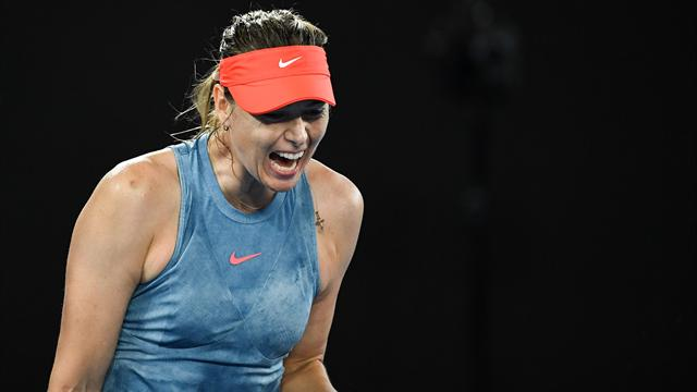 Sharapova withdraws from St Petersburg with shoulder injury