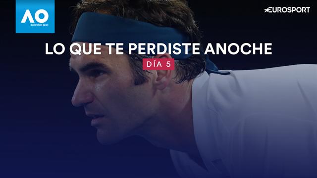 Open Australia 2019: ¿Qué te perdiste anoche? (Día 5) Maestro Roger y partidazo Sharapova-Wozniacki