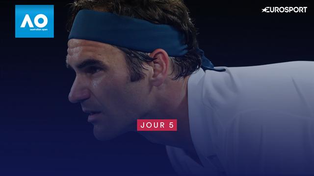 La leçon de Federer, l'angle d'Anisimova, l'inusable Sharapova : Ce que vous avez manqué cette nuit