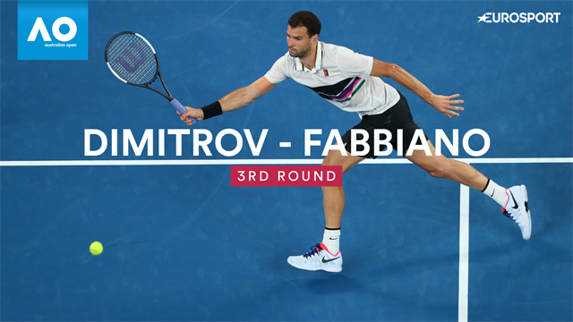 Open Australia 2019: Dimitrov-Fabbiano, vídeo resumen del partido