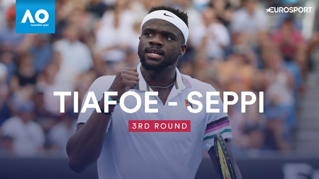 Open Australia 2019, Tiafoe vs Seppi: Vídeo resumen del partido