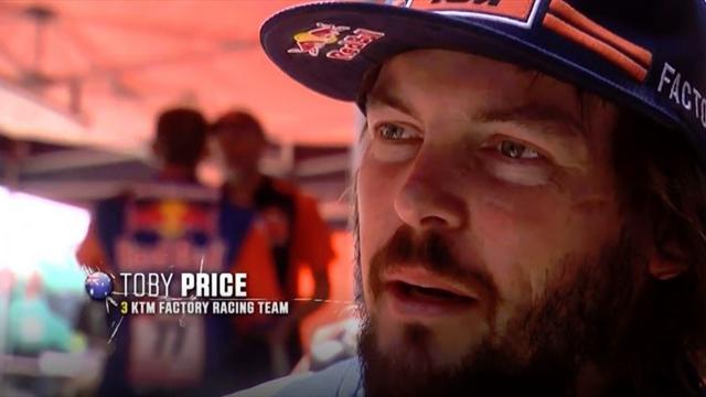 Dakar-Held: Price holt Sieg mit gebrochenem Arm