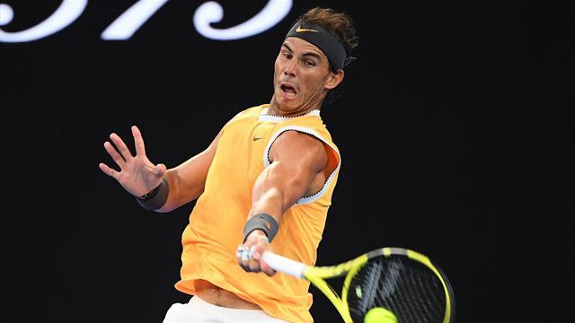 Open Australia 2019: ¿Cómo pudo llegar Nadal a esa bola? El 'bannana shot' perfecto