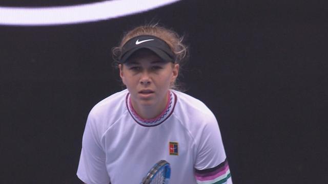 Anisimova springs upset, knocks out 11th-seed Sabalenka
