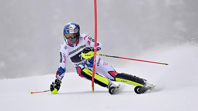 Impeccables en slalom, Pinturault et Muffat-Jeandet peuvent viser la victoire