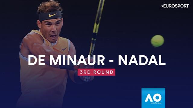 Highlights - Nadal makes light work of De Minaur in Melbourne