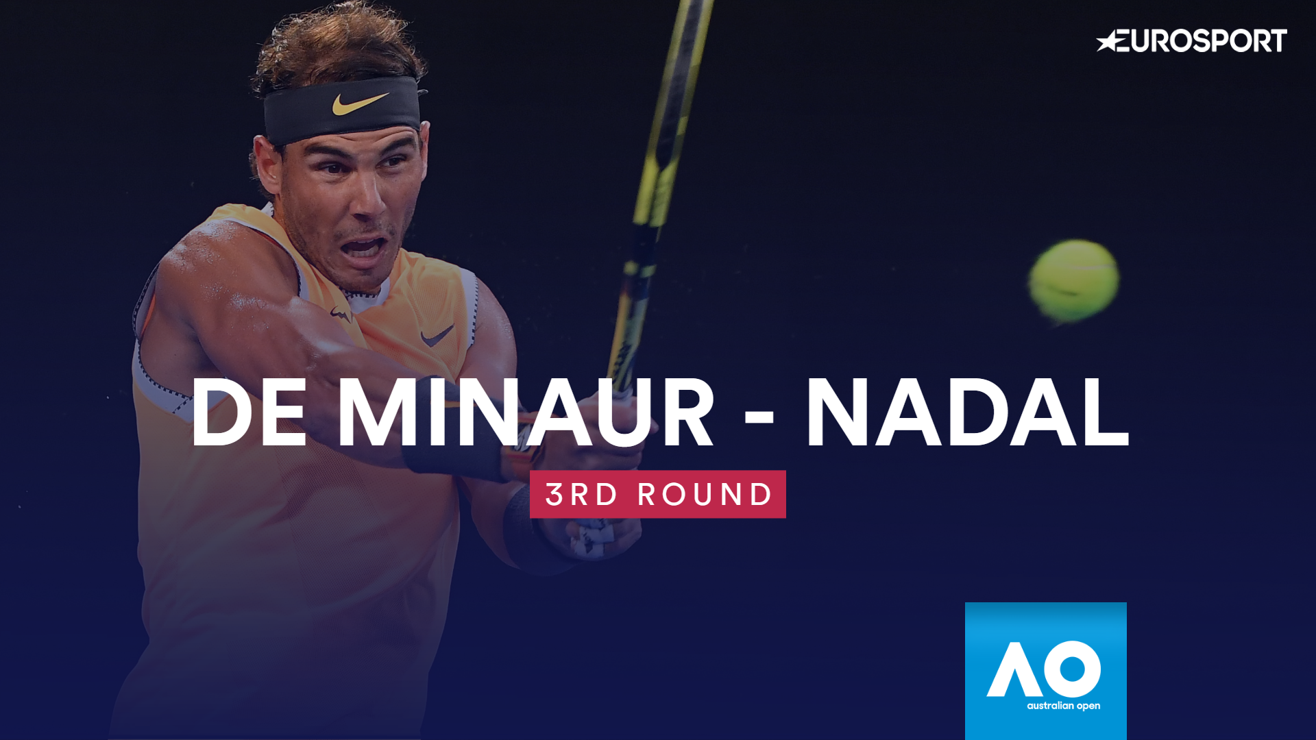 AO - Highlights : De Minaur - Nadal