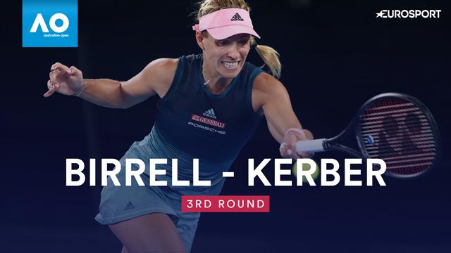 Highlights - Kerber buries Birrell with remarkable nine-game winning streak