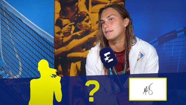 «Это дабл-ю или что это?» Соболенко и Хачанов угадывают автографы теннисных монстров