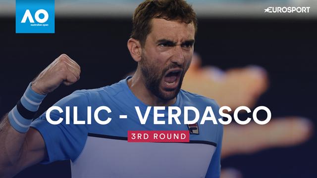 Bautista s'offre Cilic et un premier quart de finale — Open d'Australie
