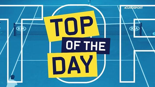 Top 5 Australian Open: i colpi più belli del Day 4