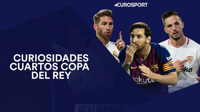 Sevilla-Barça, duelo inédito para el Real Madrid, asalto a Mestalla y otros morbos en cuartos