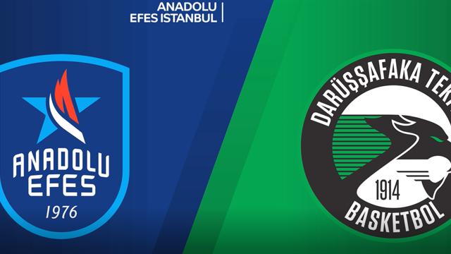 Highlights: Anadolu Efes Istanbul-Darussafaka Tekfen Istanbul 82-68