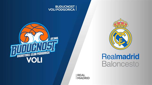 Highlights: Buducnost VOLI-Real Madrid 73-60