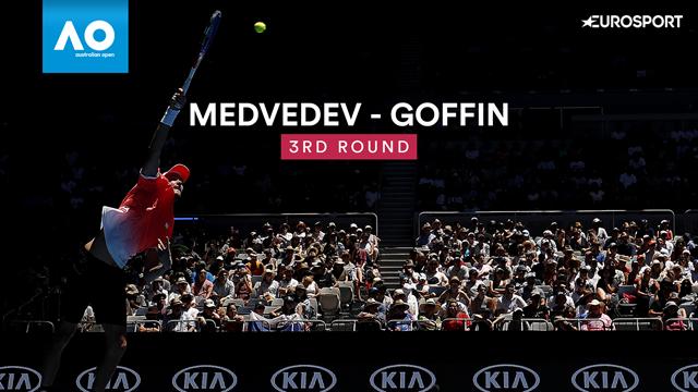 Medvedev - Goffin : Les temps forts