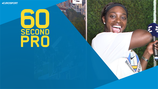 60 Second Pro: Sloane Stephens reveals tips for the topspin forehand