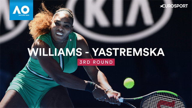 Highlights: Serena brushes off teen challenger Yastremska