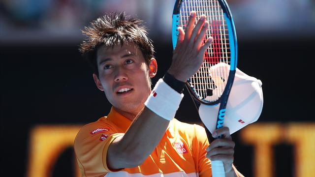Nishikori makes Aus Open fourth round for seventh time