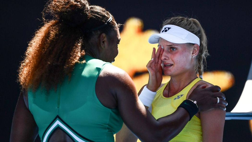 Australian Open Serena Williams 37 Dismisses Teenager Dayana