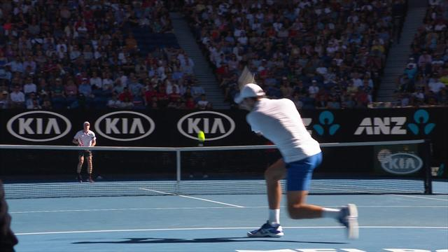 Shapovalov fires wicked forehand past Djokovic after lengthy rally