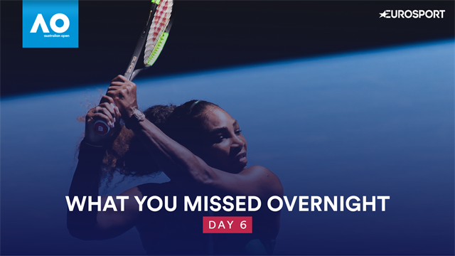 La promenade de Serena, la puissance de Raonic : Ce que vous avez manqué cette nuit