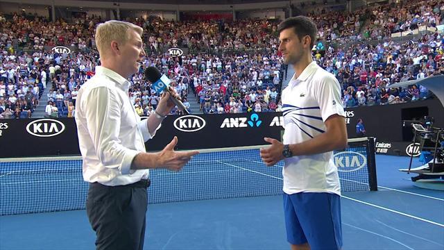 """Open Australia 2019: Djokovic explica su tremendo enfado por los focos: """"No tienen sentido de día"""""""