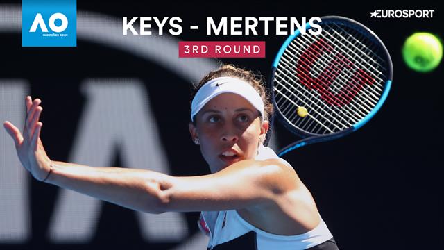 Open Australia 2019, Keys vs Mertens: Vídeo resumen del partido